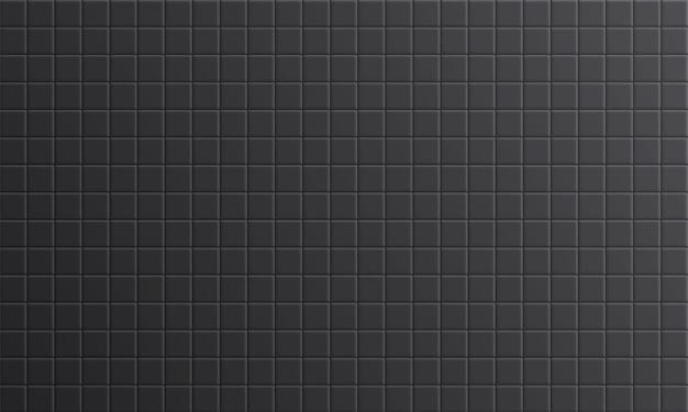 Carrelage de salle de bain gris, fond de surface de mur en céramique propre. concept de dosseret de cuisine.