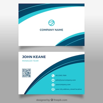 Carte abstraite corporative