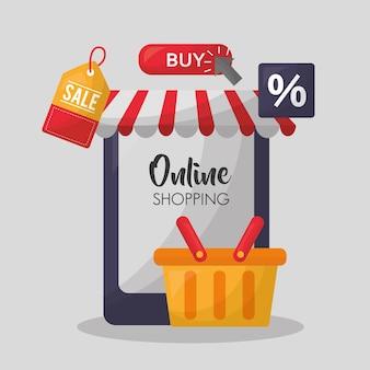Carte d'achat en ligne