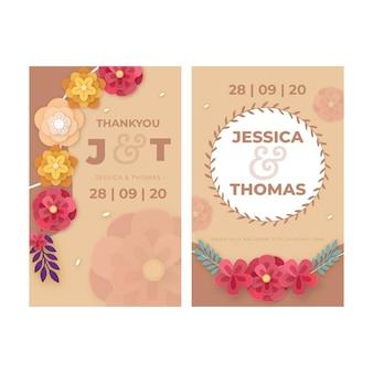 Carte d'anniversaire de mariage