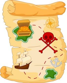 Carte au trésor