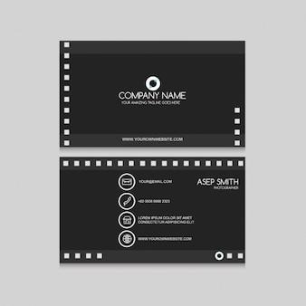 Carte audiovisuel foncé