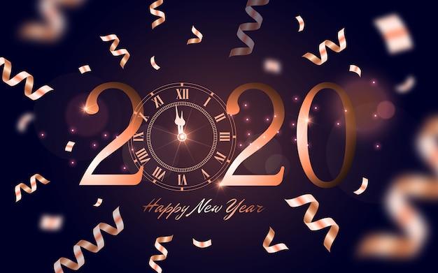Carte de bonne année 2020