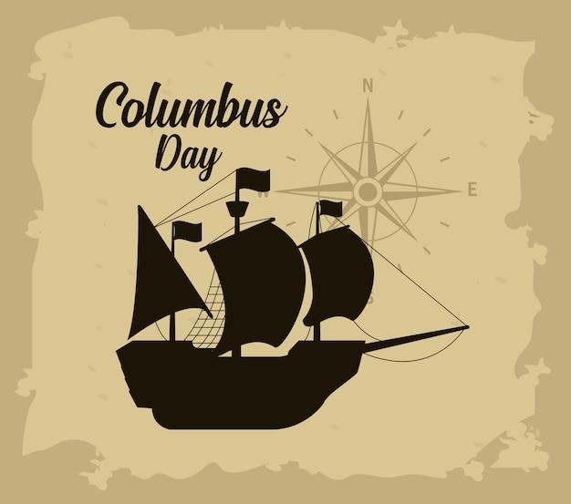 Carte de bonne journée columbus