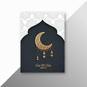 Carte de brochure eid-al-adha moubarak