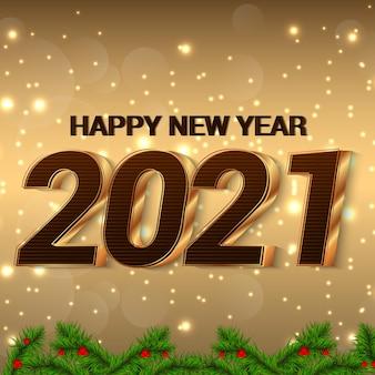 Carte de célébration de bonne année