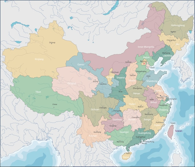 Carte de chine