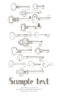 Carte des clés