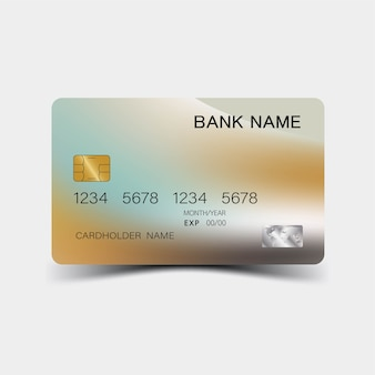 Carte de crédit nouvelle