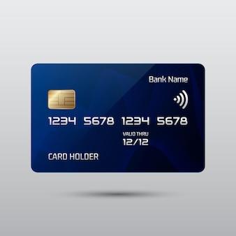 Carte de crédit réaliste