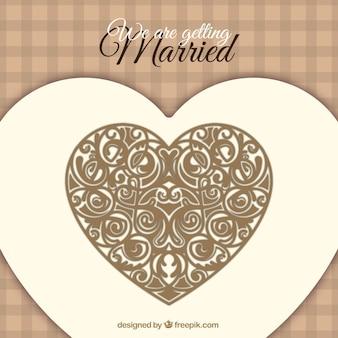 Carte Dinvitation De Mariage