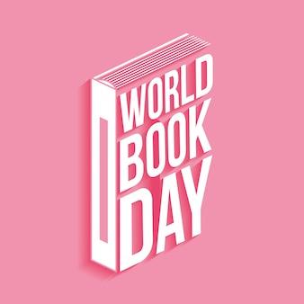 Carte du jour du livre mondial
