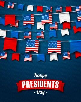 Carte du jour des présidents en amérique