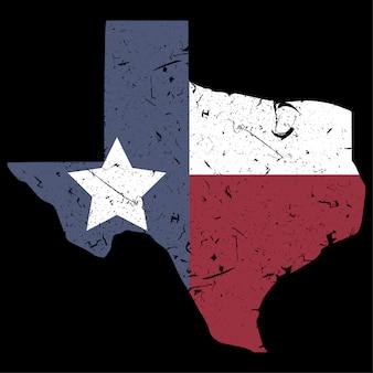 Carte du texas