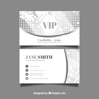 Carte d'entreprise silver vip