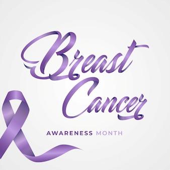Carte d'événement de cancer du sein