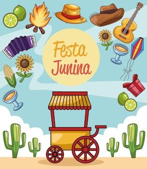 Carte festa junina