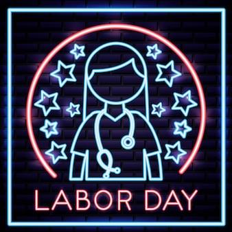 Carte de fête du travail