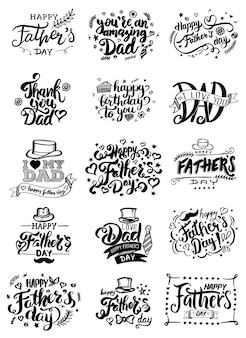 Carte de fête des pères.