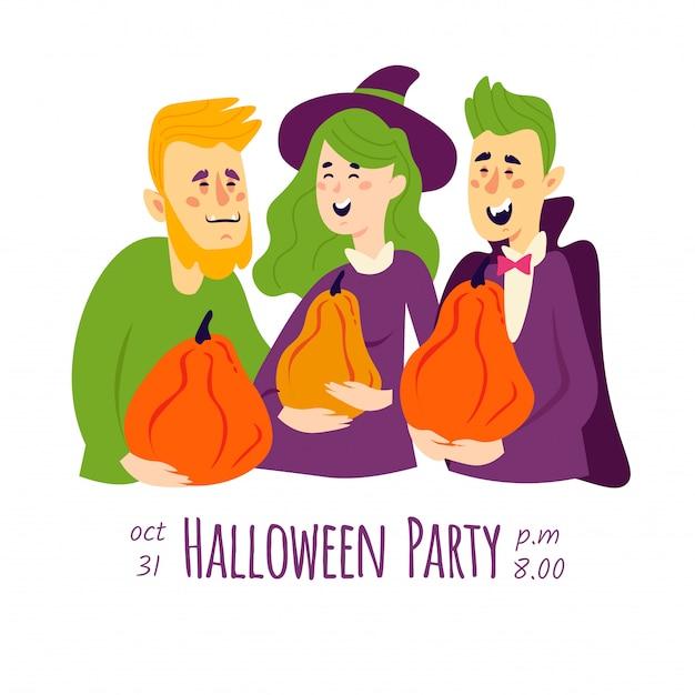 Carte d'halloween