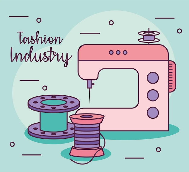 Carte de l'industrie de la mode