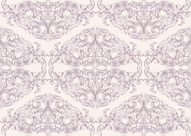 Carte d'invitation de luxe vector. ornement de modèle victorien royal. arrière-plans rococo riches