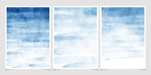 Carte d'invitation de mariage fond aquarelle splash bleu foncé