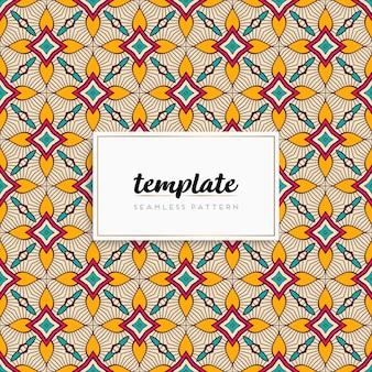 Carte ou invitation avec motif mandala