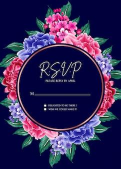 Carte d'invitation.