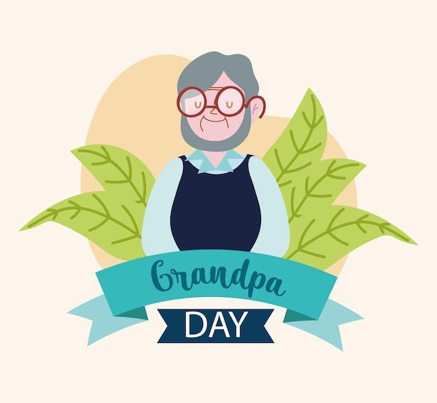 Carte de jour de grand-père