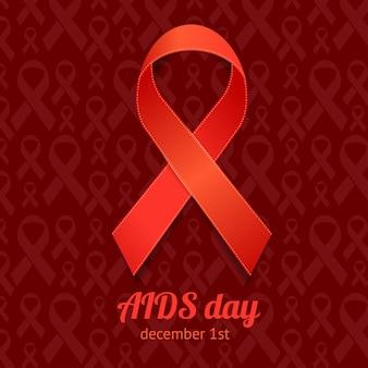 Carte de jour de sida.