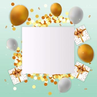 Carte de joyeux anniversaire avec signe vierge