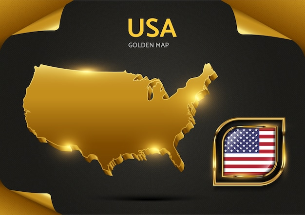 Carte d'or de luxe usa