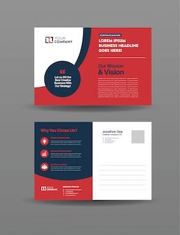 Carte postale d'affaires