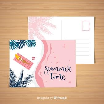 Carte postale d'été