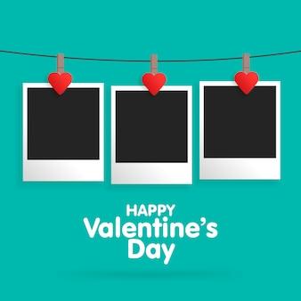 Carte postale happy valentines day