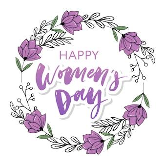 Carte postale heureuse des femmes