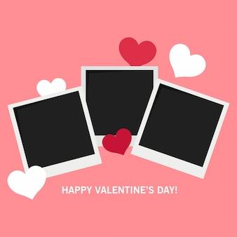 Carte postale joyeuse saint valentin