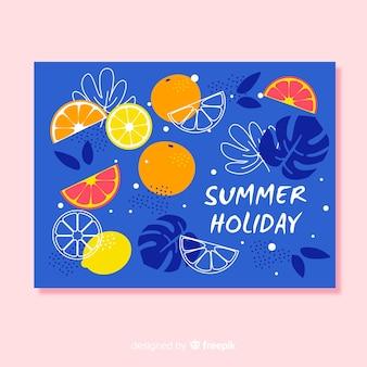 Carte postale de vacances
