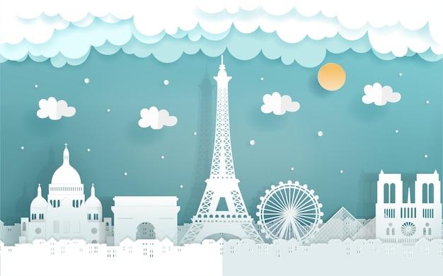 Carte postale de voyage et affiche