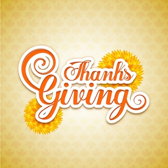 Carte pour le jour de thanksgiving