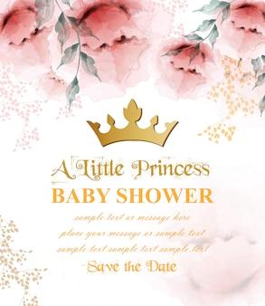 Carte de princesse joyeux anniversaire