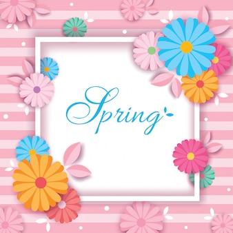 Carte de printemps