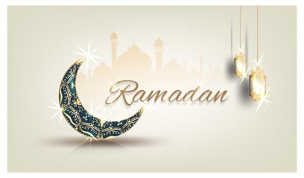 Carte de ramadan kareem