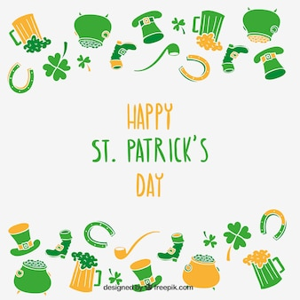 Carte de saint patricks jours