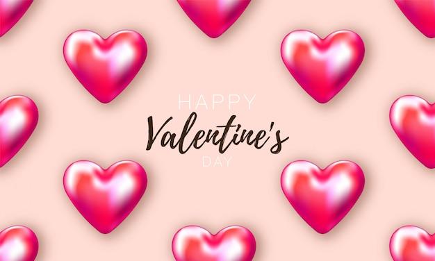 Carte de saint valentin. romantique festif. affiche d'amour spéciale. brochure de promotion pour la saint valentin.