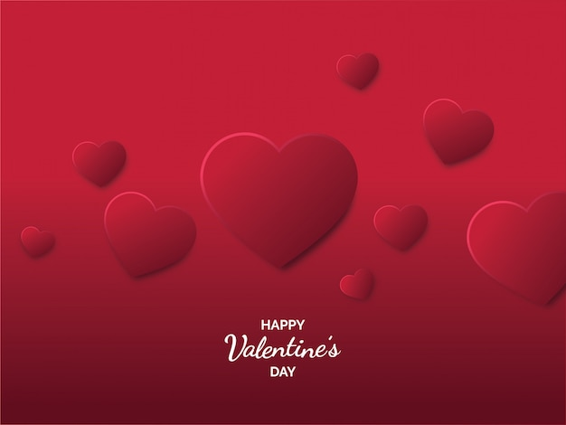 Carte de la saint valentin