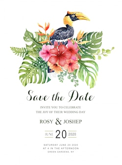 Carte save the date