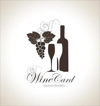 Carte de vin