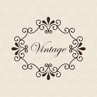 Carte vintage sur illustration vectorielle fond beige